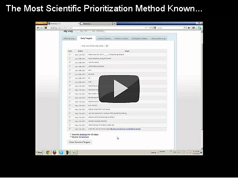 The Most Scientific Prioritization Method Ever (and the New Hidden Features on the Daily Targets Tab)
