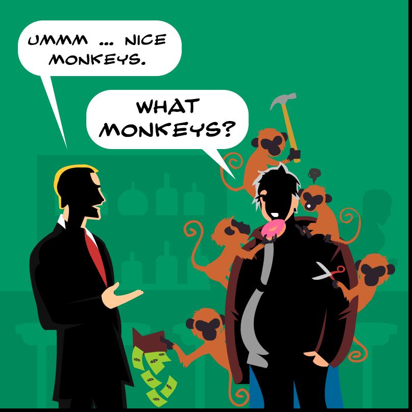 The 5 Quit Monkeys